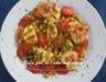 Salade de quinoa, pois chiches, haloumi et pancetta croustillante