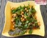 Salade épicée de pois chiches et roquette