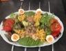 Salade fraîcheur complète et légère