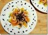 Salade orientale au fenouil, crevettes et orange