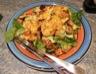 Salade repas façon chicken caesar