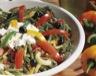 Légumes: Salade variée au fromage blanc ferme