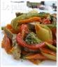 Sauté de porc aux légumes et cari