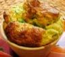Légumes: Soufflé aux asperges vertes et jambon