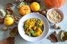 Tajin de potimarron-pommes de terre aux fruits secs et citron confit