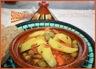 Tajine de poulet-pommes de terre et olives