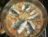 Tajine de sardines au citron et pommes de terre nouvelles