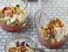 Tartare de tomates et courgettes en verrines