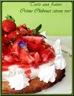 Tarte aux fraises crème chiboust au citron vert, pâte sablée noisettes