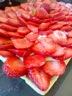 Tarte aux fraises creme patissiere chocolat blanc
