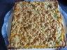 Tarte rhubarbe crumble