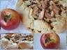 Tarte rustique pommes poires et pépites de chocolat
