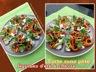 Tarte (sans pâte) fraîcheur légumes d'été et chèvre