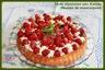 Tarte viennoise aux fraises et mousse de mascarpone vanillée