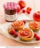 Tartelettes aux pétales de pommes et Confiture de Fraises-Framboises Bonne Maman®