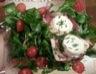 Tartines aux magret de canard et au chèvre chaud