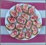 Tartines de radis marinés et fromage frais