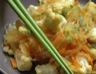 Vermicelles de riz au chou-fleur et carottes