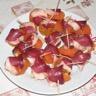 Abricots au foie gras et au magret de canard