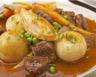 Agneau aux pommes de terre carottes et navets