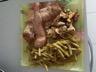 Aiguillettes de canard au paprika et poêlée de cèpes