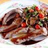 Aiguillettes de canard aux chanterelles sauce au porto