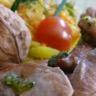 Aiguillettes de canard du Sud-Ouest à la plancha pistou à la noix du Périgord