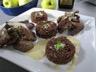 Aiguillettes de canard gras au coulis de pommes