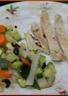 Aiguillettes de dinde aux légumes croquants