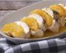 Aiguillettes de poulet à l'orange et sauce chutney mangue