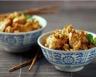 Aiguillettes de poulet à la sauce ail et fines herbes