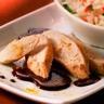Aiguillettes de poulet sauce curry et chocolat