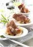 Amuse-bouche crottin de chèvre jambon et pommes de terre