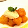 Ananas rôti aux épices façon Air Fryer glace rhum raisin