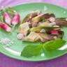 Artichauts poivrades crus parmesan et huile d'olive bien verte