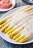 Ma recette d'asperges blanches au parmesan et speck - Laurent Mariotte