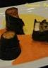 Aubergines farcies aux 2 coulis