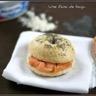 Bagels au saumon fumé et fromage frais