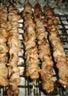 Barreh kebab : brochettes d'agneau marinées dans le yaourt