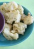 Beignets de chou-fleur et sauce au piment