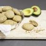 Biscuits de flocons d'avoine noix sans beurre