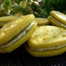 Biscuits fourrés au pesto