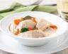 Blanquette de poulet aux carottes poireau et vin blanc