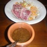 Boeuf laqué au caramel de soja et sa salade de légumes