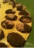 Bonbons de chocolat au Nutella et au beurre de cacahuète
