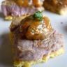 Bouchée d'Agneau Presto et courge butternut sauce abricot à l'anis vert