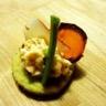 Bouchée printanière aux légumes croquants