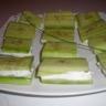 Bouchées de concombres au fromage frais