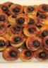 Bouchées extra moelleuses à la ricotta et aux cerises noires