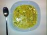 Bouillon de poulet au lait de coco